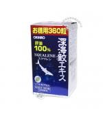 日本ORIHIRO歐力喜樂深海鯊魚油精華膠囊360粒