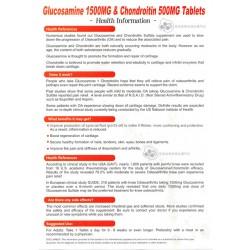 能得健骼康素胺基葡萄糖胺(1500mg)及軟骨素(500mg) 200粒裝